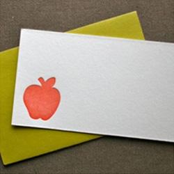 Apple Letterpress