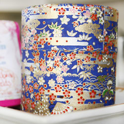 Japanese Paper Tea Cannister