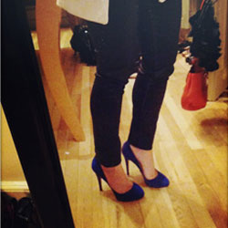 First Red Soles