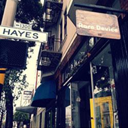 Shop Love - Rare Device San Francisco