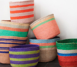 far and wide collective handmade woven baskets