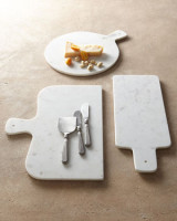 SILVER CHEESE SERVERS & MARBLE CHEESE BOARDS