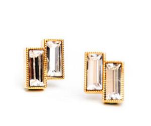 Leif Deco Bar Stud Earrings