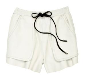 Bec & Bridge Leather Shorts