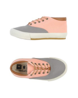 Veja Low-top canvas trainers