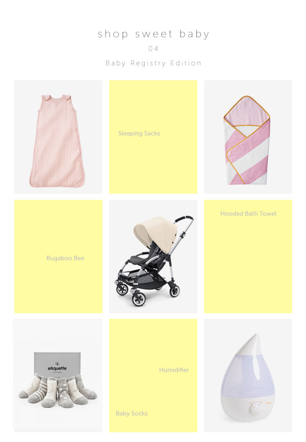 shop sweet baby   baby registry edition