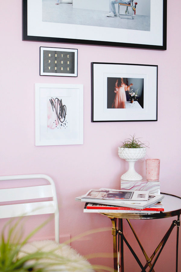 Makeover Reveal I Got A Pink Wall Shop Sweet Things