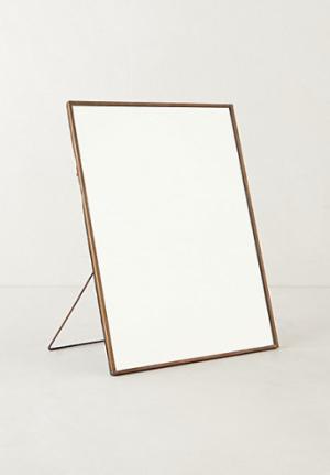 Copper Easel Mirror
