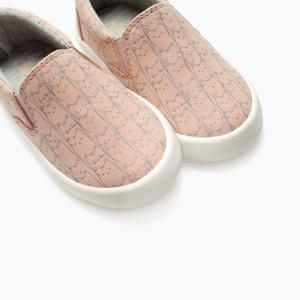 Zara Printed Slip-Ons