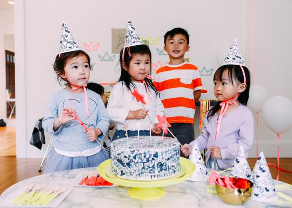 modern princess party