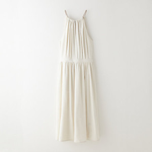 No. 6, Silk Halter Neck Dress