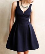 Raven Flared Dress
