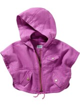 Hooded Capelets for Baby
