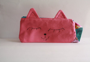Cat Pencil Case Set