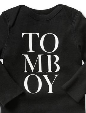 tomboy onesie