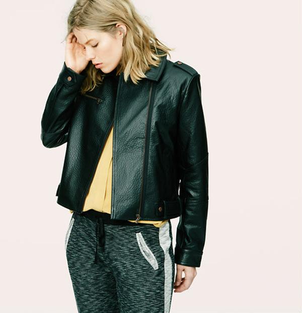 lou and grey leather moto jacket