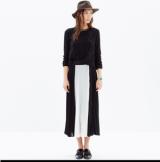 Fanfold Maxi Skirt
