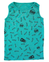 BURGERS AND FRIES TANK