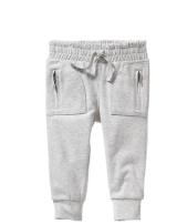 Jersey Zip-Pocket Pants for Baby