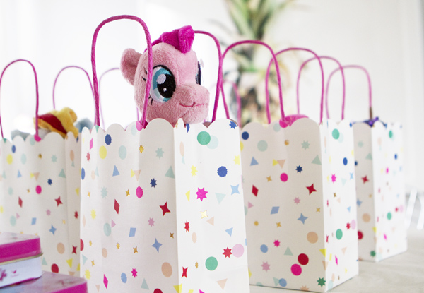 toot sweet charms party favor bags