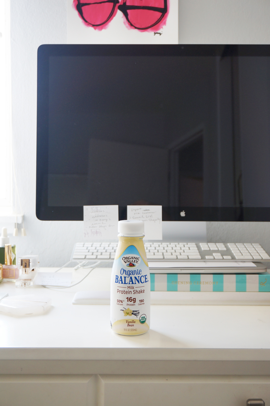 organic valley vanilla protein shake