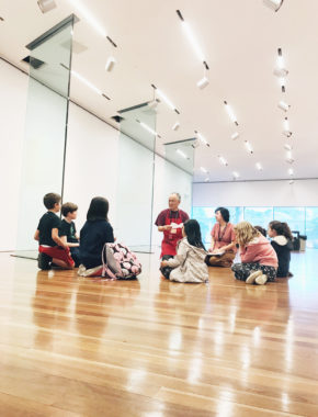 Art After School at The de Young Fine Arts Museum